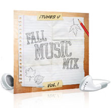 itunes u fall music mix